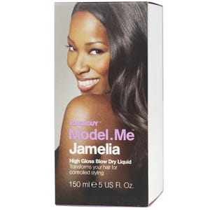 Model.Me Jamelia High Gloss Blow Dry Liquid 150ml - Catwalk Hair & Beauty Store Australia