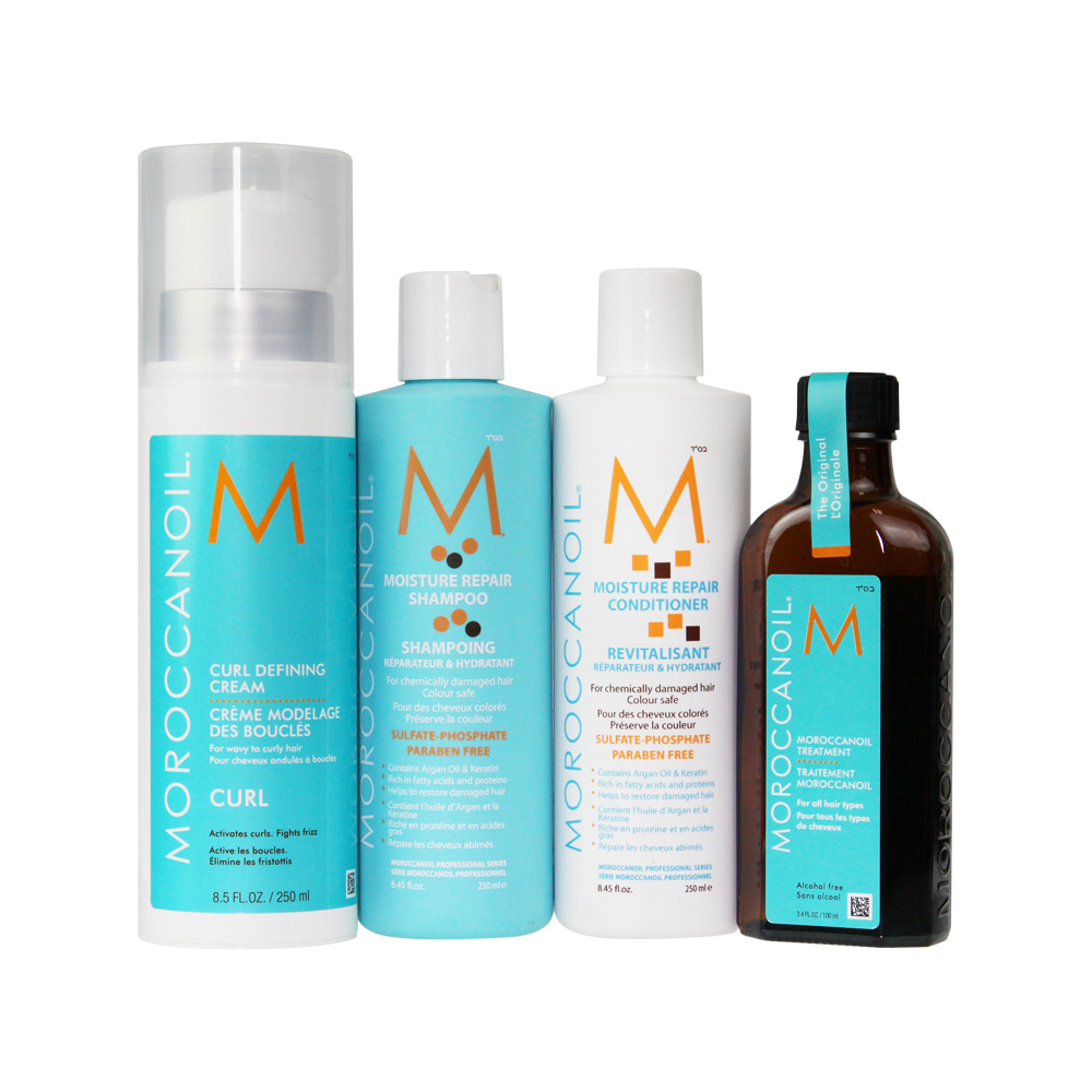 Moroccanoil Curly Pack