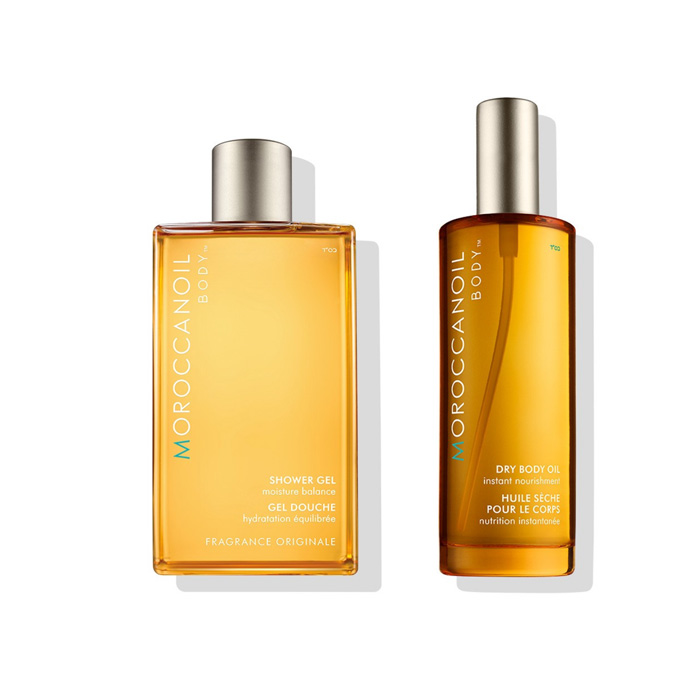 Moroccanoil Dry Body Oil and Shower Gel Body Pack