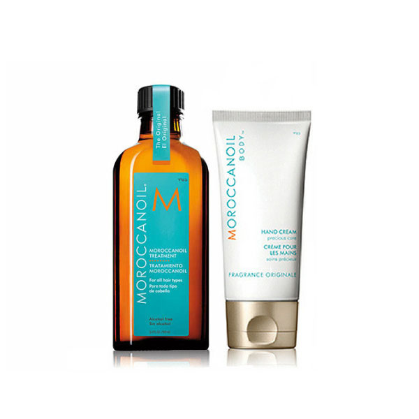 Moroccanoil Original Oil Soft & Shine Duo Pack