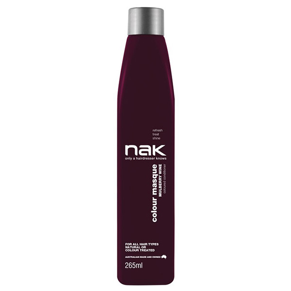 Nak Colour Masque Coloured Conditioner - Mulberry Wine 265ml