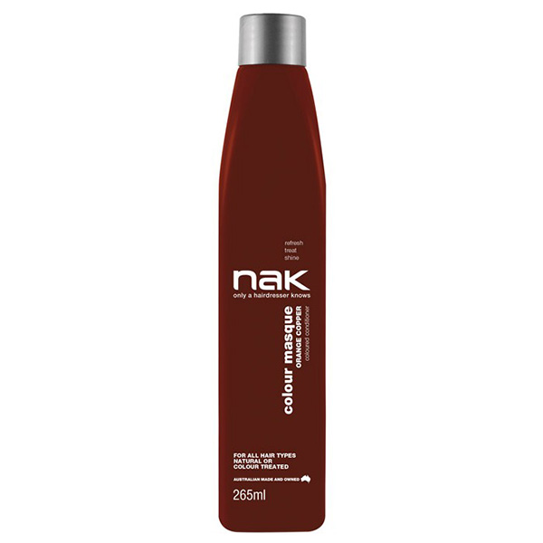 Nak Colour Masque Coloured Conditioner - Orange Copper 265ml