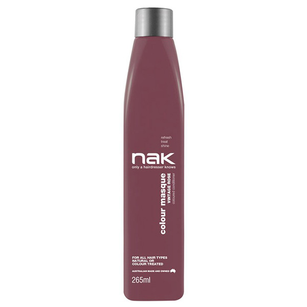 Nak Colour Masque Coloured Conditioner - Vintage Rose 265ml