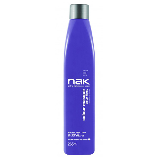 Nak Colour Masque Coloured Conditioner - Violet Pearl  265ml
