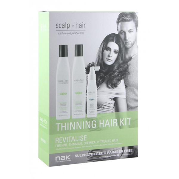 Nak Scalp to Hair Revitalise Thinning Hair Kit