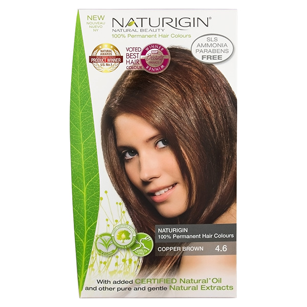 Naturigin Organic Hair Colour 4.6 Copper Brown