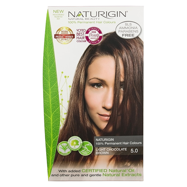 Naturigin Organic Hair Colour 5 Light Chocolate Brown
