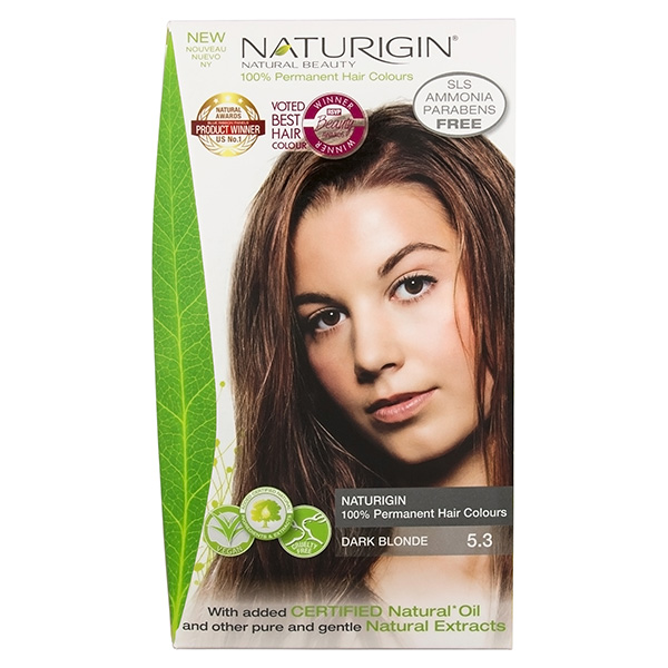Naturigin Organic Hair Colour 5.3 Dark Blonde