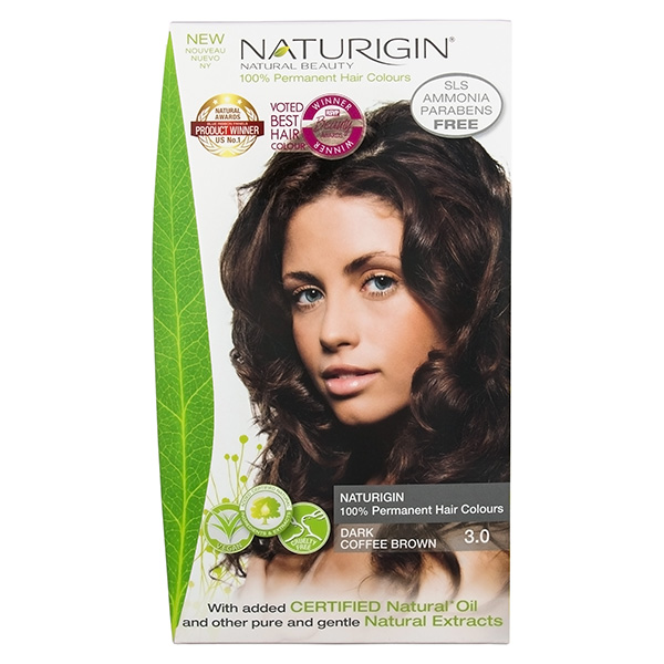 Naturigin Organic Hair Colour 3.0 Dark Coffee Brown