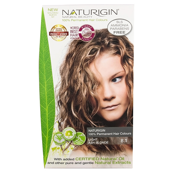 Naturigin Organic Hair Colour 8.1 Light Ash Blonde