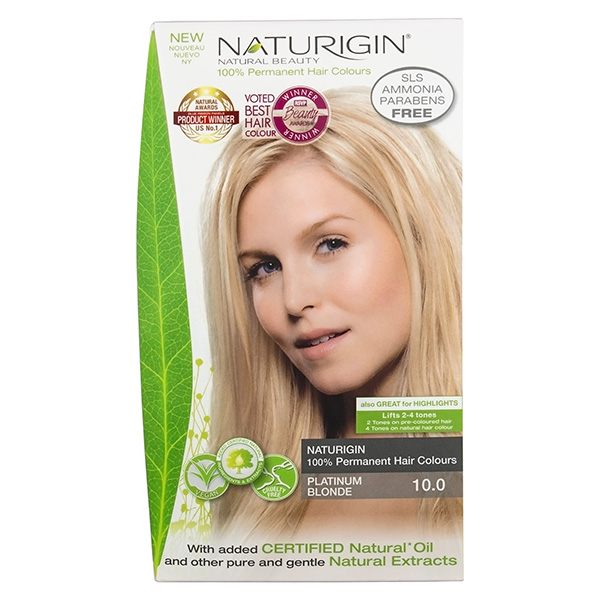 Naturigin Organic Hair Colour 10 Platinum Blonde