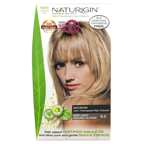 Naturigin Organic Hair Colour 9 Very Light Natural Blonde