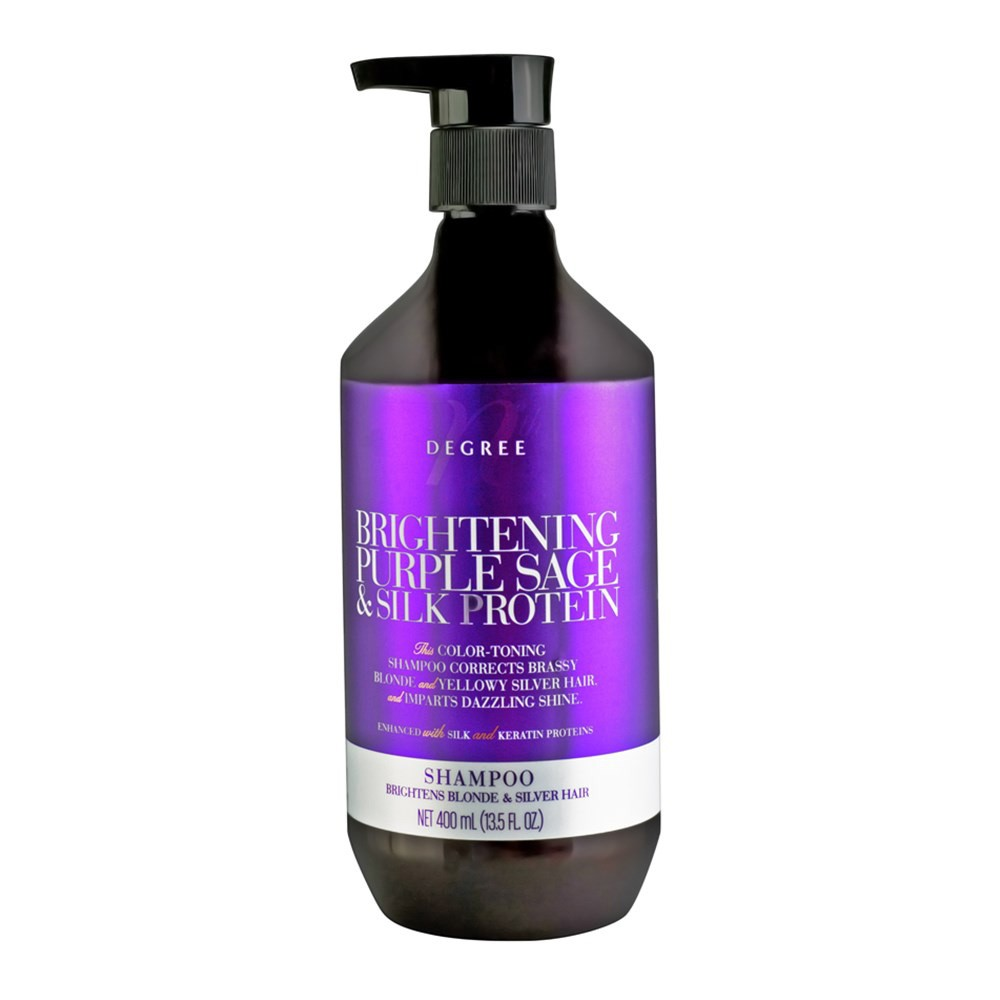Nth Degree Brightening Purple Sage and Silk Protein Shampoo 400ml