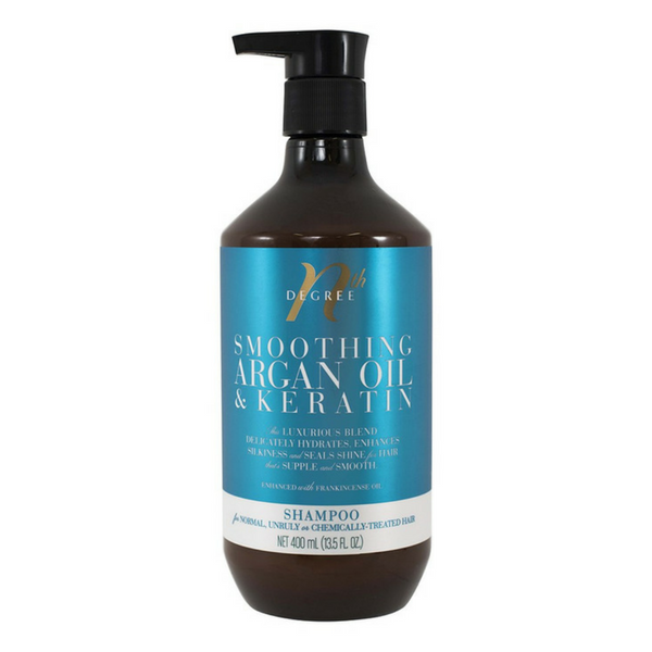 Nth Degree Smoothing Argan Oil and Keratin Shampoo 400ml