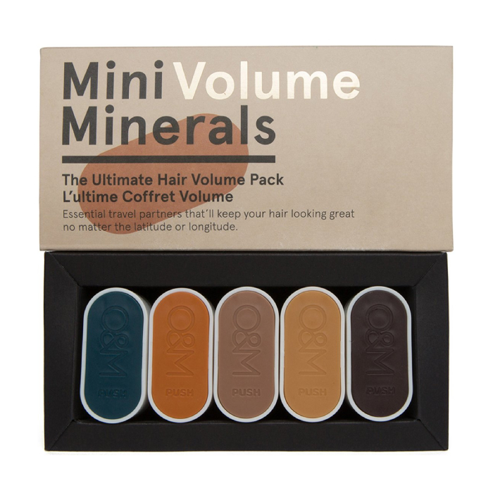 O&M Mini Minerals Volume Haircare Kit