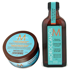Moroccanoil Repair Pack  –  Oil Treatment and Hydrating Mask