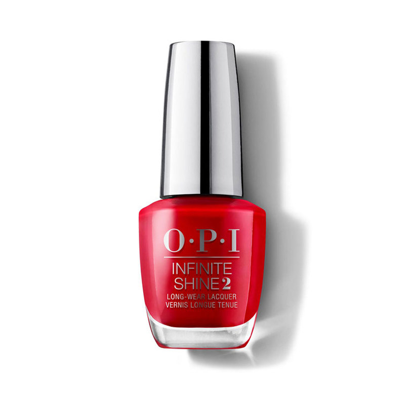 OPI Infinite Shine Big Apple Red