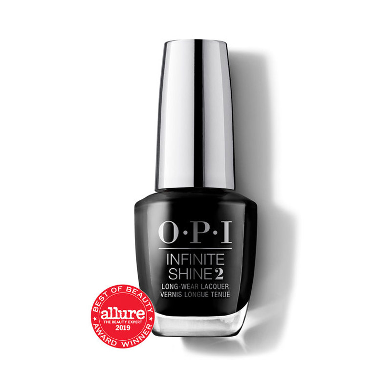 OPI Infinite Shine Black Onyx