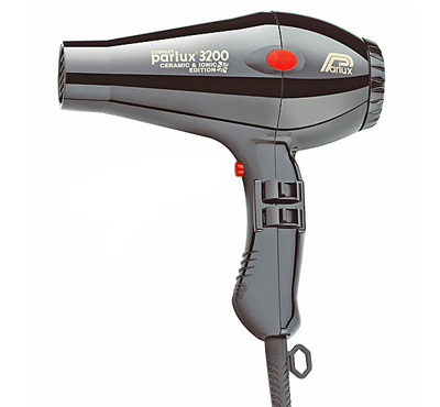 Parlux 3200 Compact Ceramic & Ionic Dryer Black