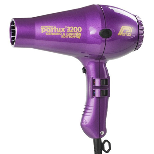 Parlux 3200 Compact Ceramic & Ionic Dryer Purple