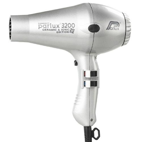 Parlux 3200 Ceramic & Ionic Dryer 1900W - Silver
