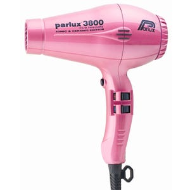 Parlux 3800 Eco Friendly Ceramic & Ionic Dryer 2100W - Pink