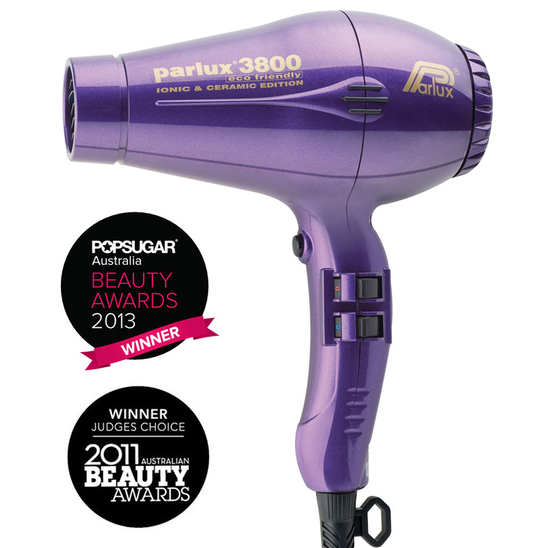Parlux 3800 Eco Friendly Ceramic & Ionic Dryer 2100W - Purple