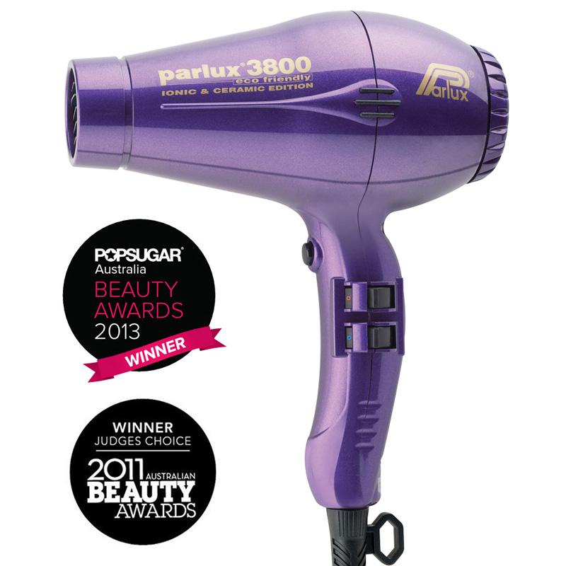 Parlux 3800 Eco Friendly Ceramic & Ionic Dryer Purple