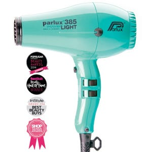 Parlux 385 Powerlight Ionic Ceramic Dryer 2150W - Aquamarine