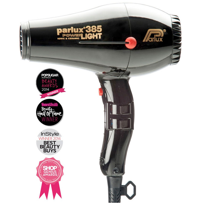 Parlux 385 Powerlight Ionic Ceramic Dryer 2150W - Black