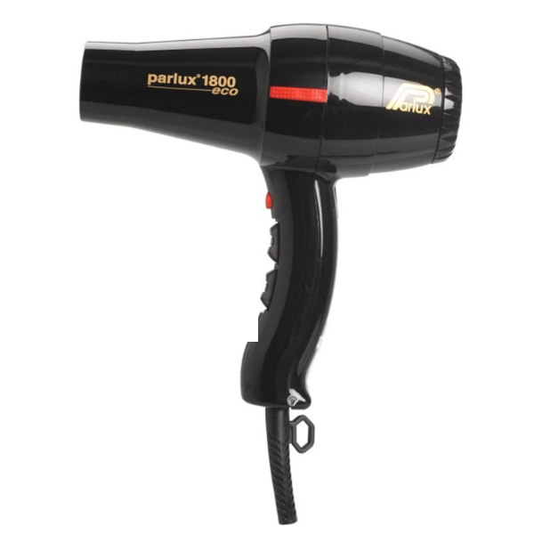 Parlux 1800 Eco Friendly Hair Dryer - Black