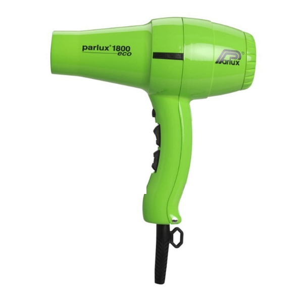 Parlux 1800 Eco Friendly Hair Dryer - Green