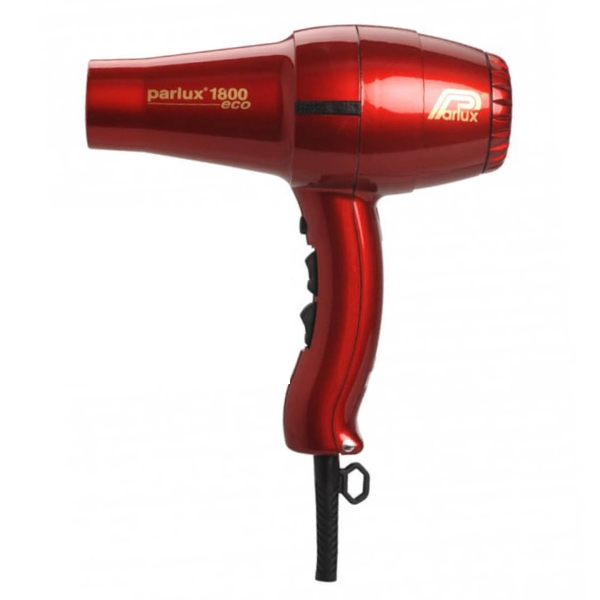 Parlux 1800 Eco Friendly Hair Dryer - Red