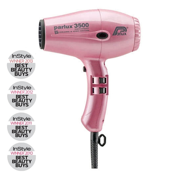 Parlux 3500 Super Compact Ceramic & Ionic Dryer 2000W - Pink