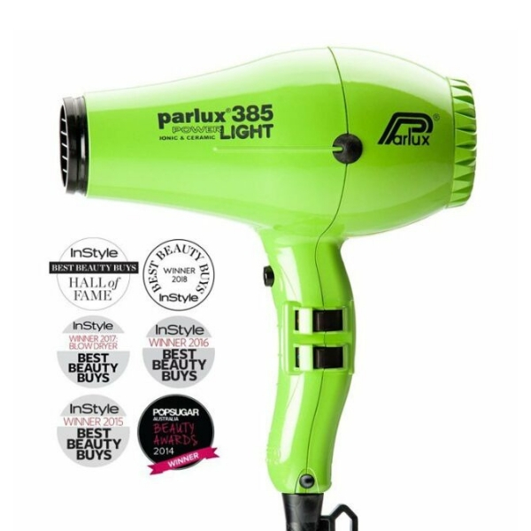 Parlux 385 Powerlight Ionic Ceramic Dryer 2150W - Green