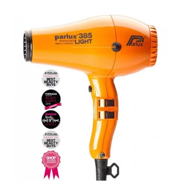 Parlux 385 Powerlight Ionic Ceramic Dryer 2150W - Orange