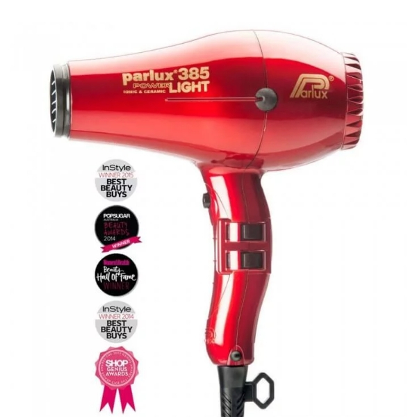 Parlux 385 Powerlight Ionic Ceramic Dryer 2150W - Red