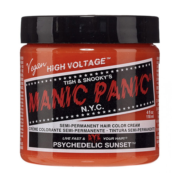 Manic Panic Hair Color Cream Psychedelic Sunset 118ml
