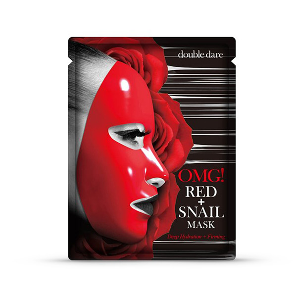 OMG Red Snail Mask
