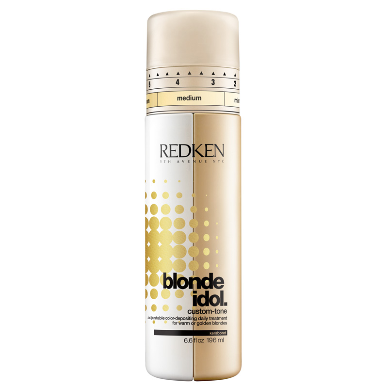 Redken Blonde Idol Custom-Tone Warm or Golden Blondes 196ml