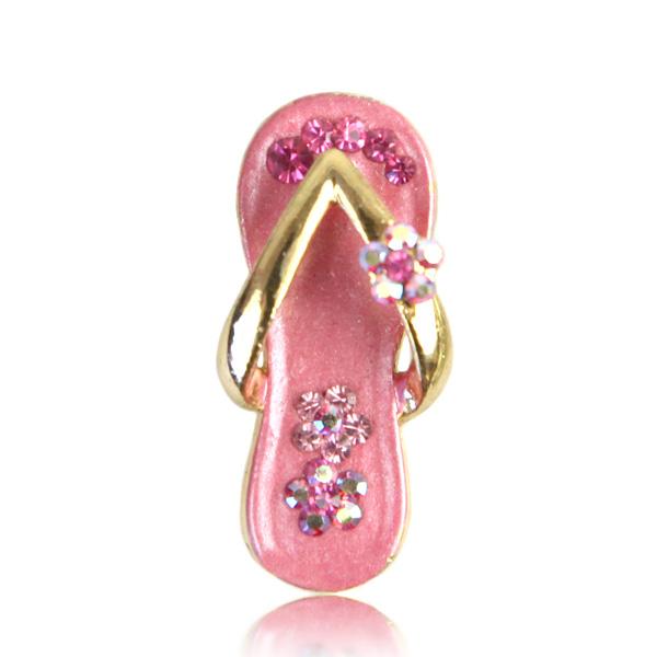 Swarovski Crystals Fairy Pink Pendant
