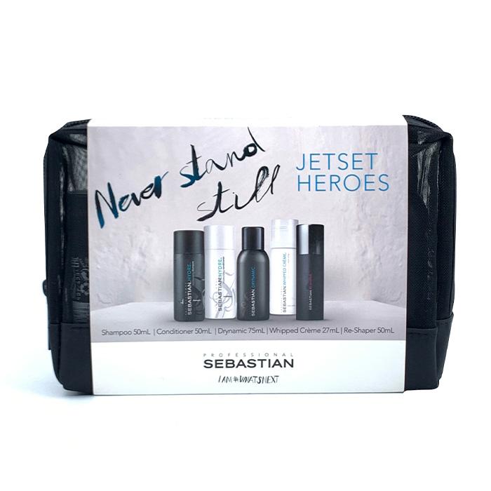Sebastian Never Stand Still Jetset Heroes Travel Pack