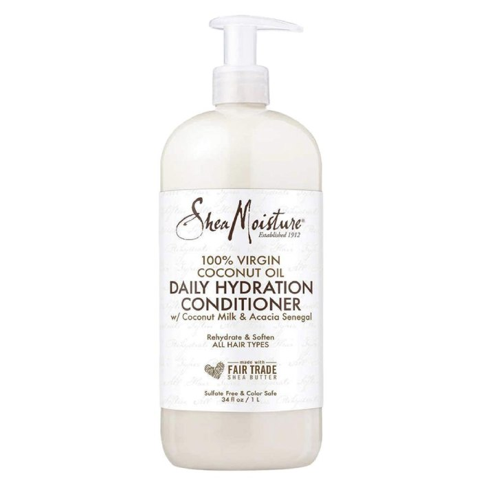 SheaMoisture 100% Virgin Coconut Oil Daily Hydration Conditioner 1L