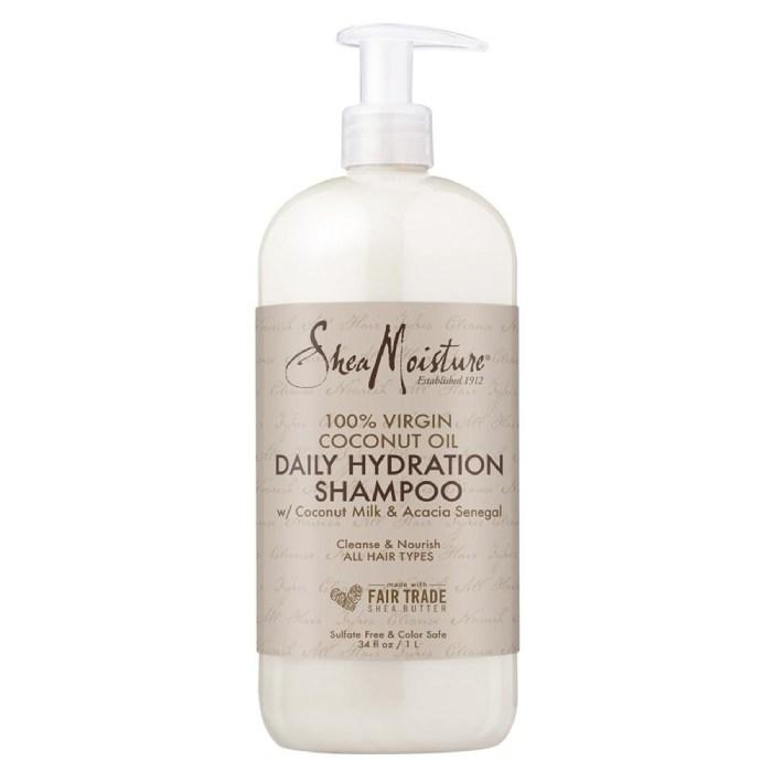 SheaMoisture 100% Virgin Coconut Oil Daily Hydration Shampoo 1L