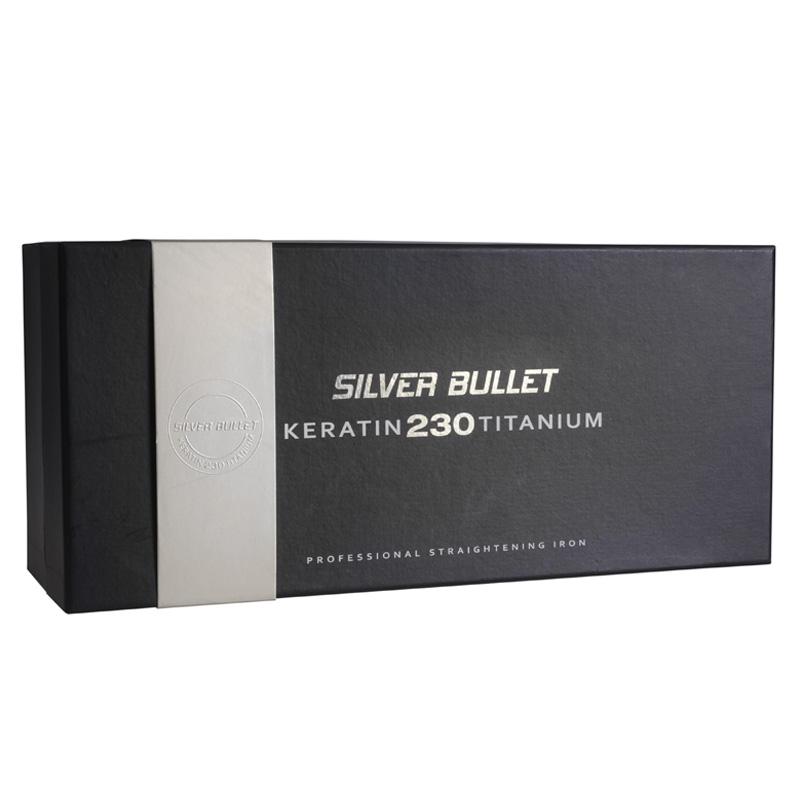 Silver Bullet Keratin 230 Silver Titanium Straightener