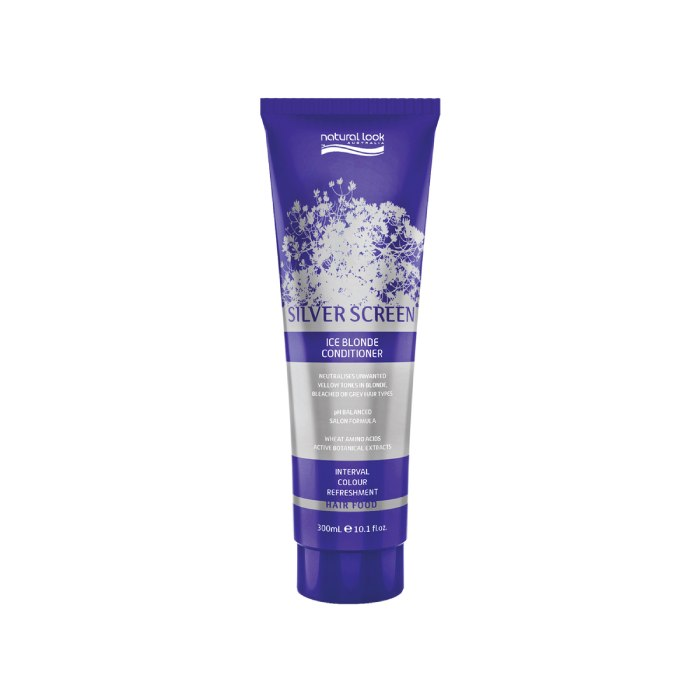 Natural Look Silver Screen Ice Blonde Conditioner 300ml