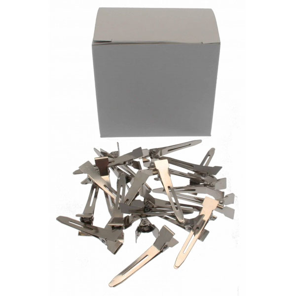 Metal Curl Clips Tapered 100