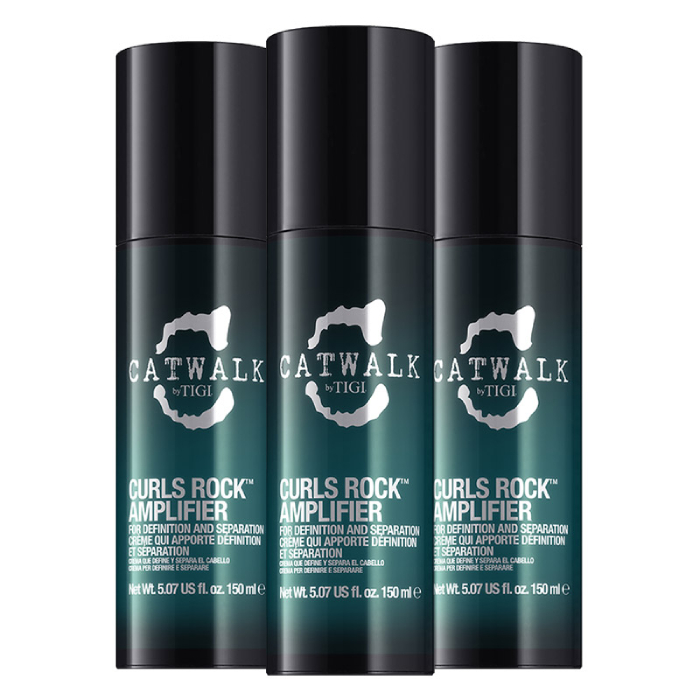TIGI Catwalk Curls Rock Amplifier 150ml Trio