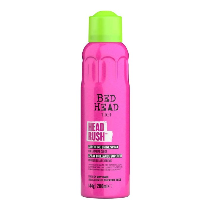 TIGI Bed Head Head Rush Shine Spray 200ml