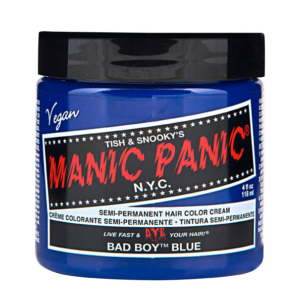 Manic Panic Hair Color Cream Bad Boy Blue 118ml